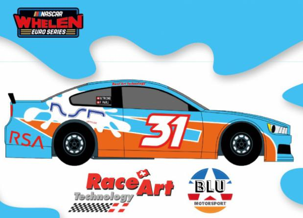 """AT THE START A NEW ADVENTURE: THE """"NASCAR WHELEN EURO SERIES"""""""
