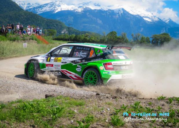 "2° OVERALL PLACE FOR JEREMIE TOEDTLI AT ""RALLYE DU CHABLAIS"""