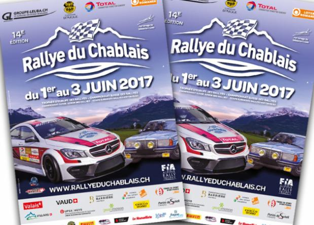 """WITH TWO R5 CARS AT THE START OF THE """"RALLYE DU CHABLAIS"""""""
