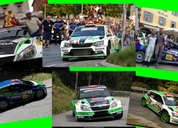 "AT THE ""RALLY RONDE TICINO"" PRIZE FOR ALL THE THREE TEAM CARS"